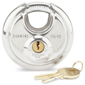 simple storage solutions Disc Padlock with Key