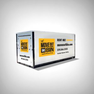 The Move Out Bin Container Mockup