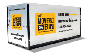 Storage Container For Easy Moving