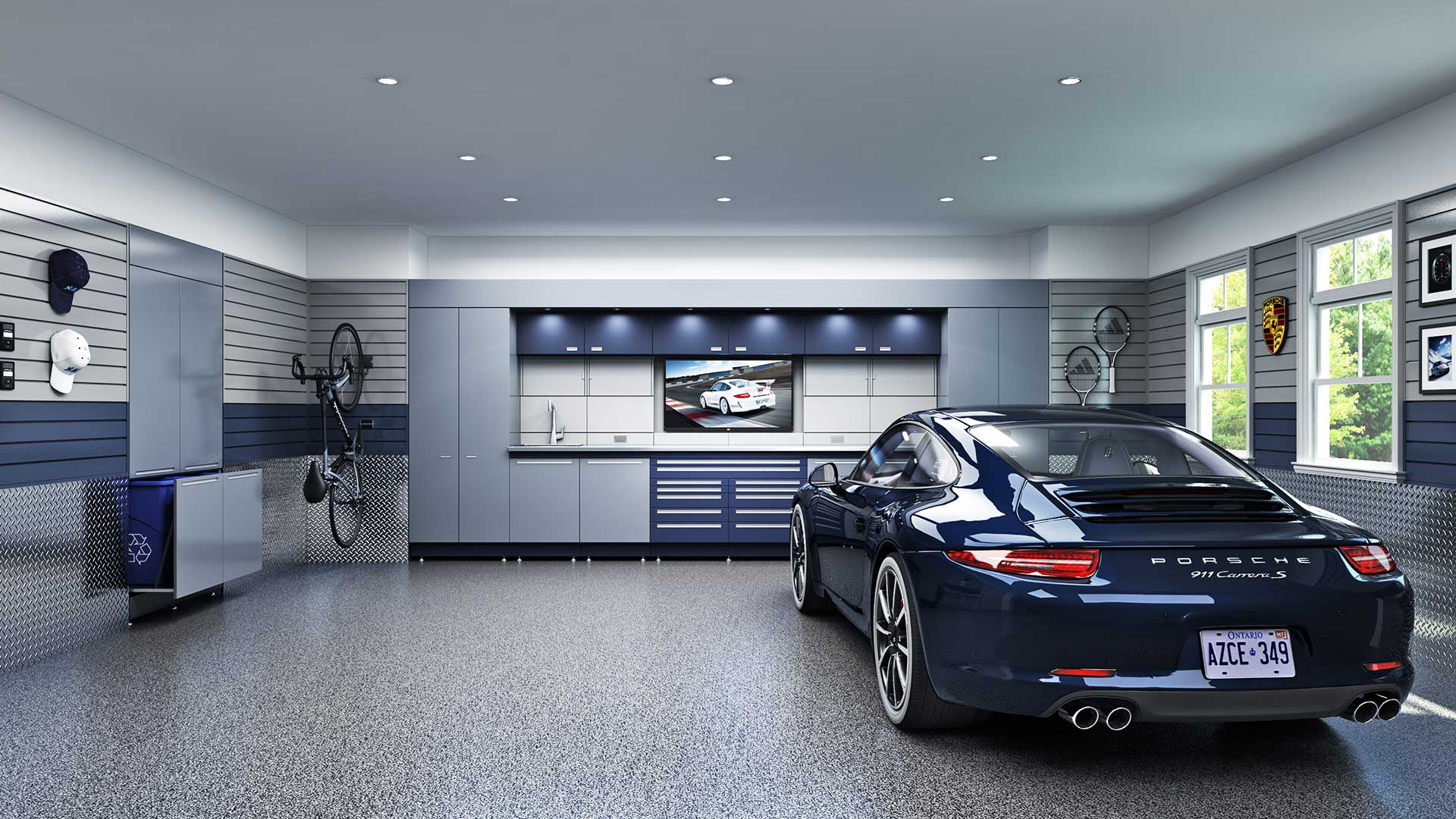 increase home resale value with an updated garage floor