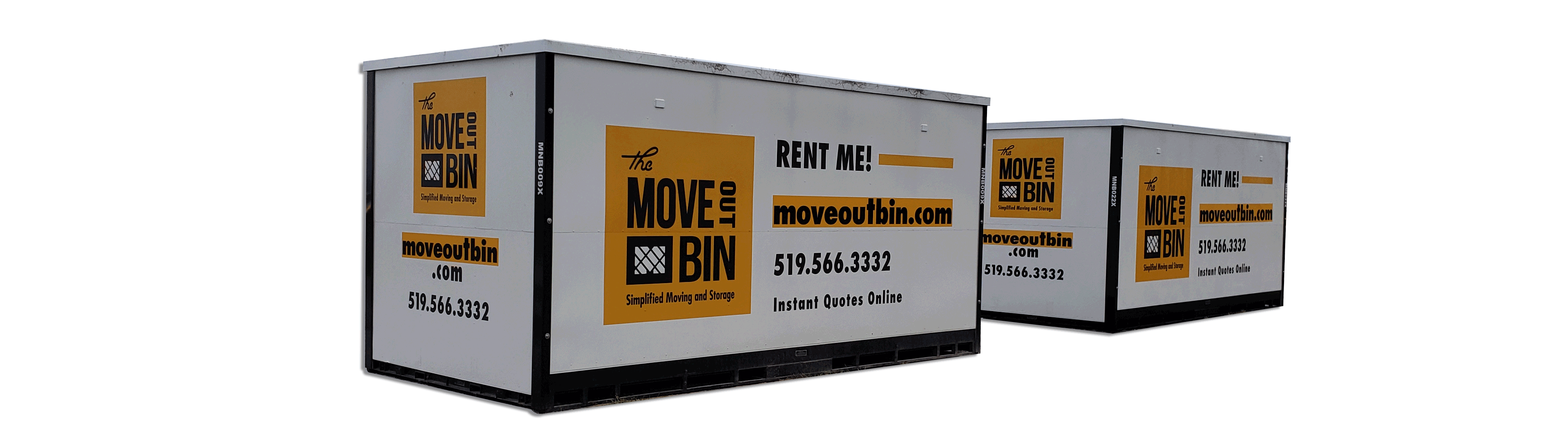 Storage bins for Windsor Essex storage solutions