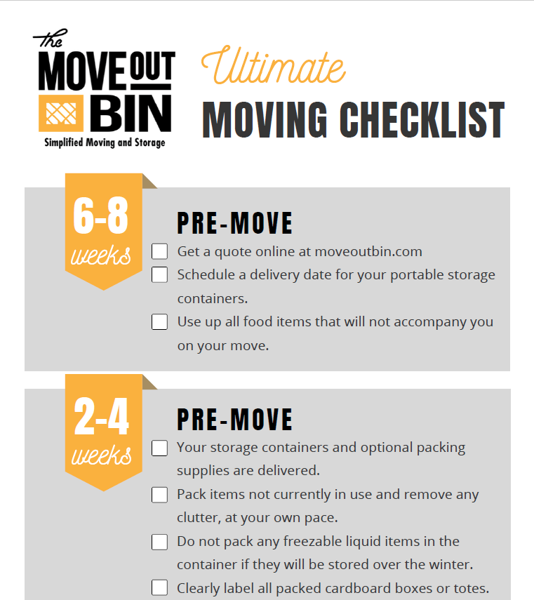 ultimate moving checklist download