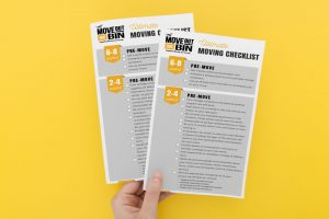 ultimate moving checklist printed sheets