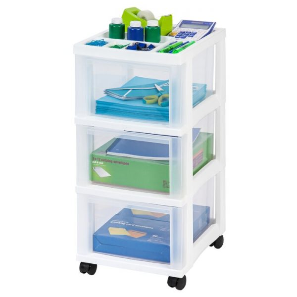 Rolling cart storage solution